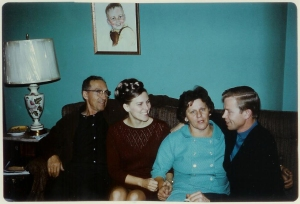 Peter, Mom, Mary, Dad